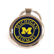 Spirit Products University of Michigan Alumni Round Keychain