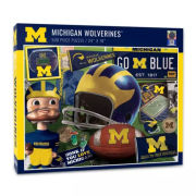 You The Fan University of Michigan Football 500 Piece Vintage Puzzle