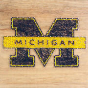 Sporticulture University of Michigan String Art Craft Kit