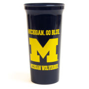 Spirit Products University of Michigan Navy 30oz Plastic Tumbler Cup
