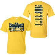 University of Michigan Football 2021 Season Tee