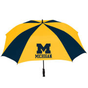 Storm Duds University of Michigan Square Vented Golf Umbrella
