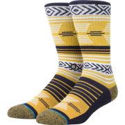 Stance University of Michigan Mazed Pattern Crew Socks