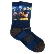 Strideline University of Michigan Football Tom Brady Socks