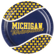 Creative Converting University of Michigan 9'' Paper Plate [Set of 8]