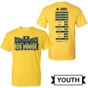 University of Michigan Football Youth 2021 Season Tee