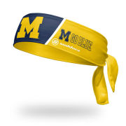 Suddora University of Michigan Tie Back Headband