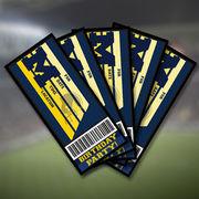Team Spirit Store University of Michigan Football Birthday Party Ticket Invites