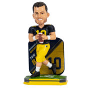 Forever Collectibles University of Michigan Football Tom Brady Bobblehead
