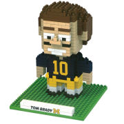 Forever Collectibles University of Michigan Football BRXLZ Tom Brady Puzzle Building Block Set