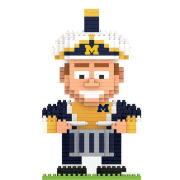 Forever Collectibles University of Michigan Football BRXLZ Marching Band Drummer Puzzle Building Block Set