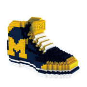 Forever Collectibles University of Michigan BRXLZ Sneaker Puzzle Building Block Set