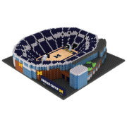 Forever Collectibles University of Michigan Basketball 3D Crisler Center Building Puzzle Block Set