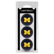 Team Golf University of Michigan Set of Three Navy Golf Balls