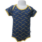 Third Street University of Michigan Infant Navy All-Over Print Onesie