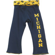 Third St. University of Michigan Toddler Navy Yoga Pant