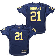 '47 Brand University of Michigan Football Desmond Howard Navy Jersey