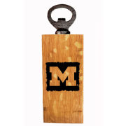 Timeless Etchings University of Michigan Wine Barrel Stave Mini Bottle Opener
