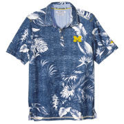 Tommy Bahama University of Michigan Trim Fit Parque Polo
