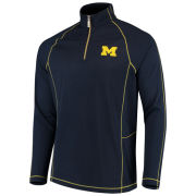 Tommy Bahama University of Michigan Goal Keeper 1/2 Zip Pullover