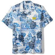 Tommy Bahama University of Michigan Super Fan Camp Shirt