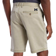 Tommy Bahama University of Michigan Khaki ''Boracay'' 10-Inch Chino Shorts
