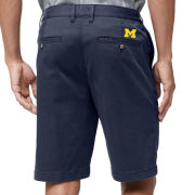 Tommy Bahama University of Michigan Navy ''Boracay'' 10-Inch Chino Shorts