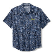 Tommy Bahama University of Michigan Blue Note Sport Tiki Luau Shirt