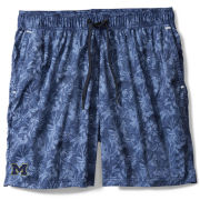 Tommy Bahama University of Michigan Ocean Deep Blue Naples Jungle Shade Swim Trunks