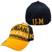 Top of the World University of Michigan Ugly Holiday Sweater Flex Fit Hat