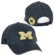 Top of the World University of Michigan Vintage Washed Navy Dispatch Hat