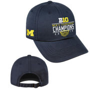 Top of the World University of Michigan Basketball Big Ten Tournament Champions Navy Hat