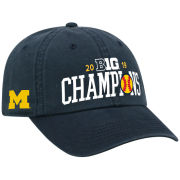 Top of the World University of Michigan Softball Big Ten Champions Navy Locker Room Hat
