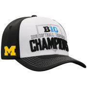 Top of the World University of Michigan Softball Big Ten tournament Champions Navy Locker Room Hat