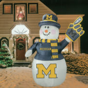 Topperscot University of Michigan 7 FT Inflatable Snowman
