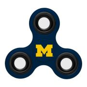 Forever Collectibles University of Michigan 3-Way Diztracto Spinnerz