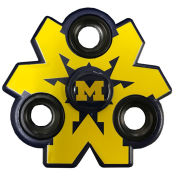 Forever Collectibles University of Michigan 3-Way Block ''M'' Diztracto Spinnerz