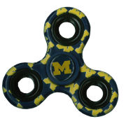 Forever Collectibles University of Michigan All-Over Block ''M'' 3-Way Diztracto Spinnerz