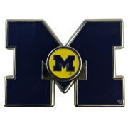Forever Collectibles University of Michigan Block ''M'' Logo Metal Diztracto Spinnerz