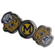 Forever Collectibles University of Michigan College Vault Wolverine Two-Way Metal Diztracto Spinnerz