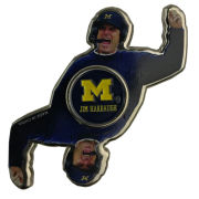 Forever Collectibles University of Michigan Football Jim Harbaugh Two-Way Metal Diztracto Spinnerz
