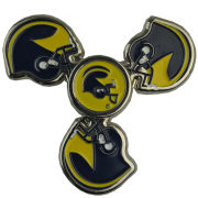 Forever Collectibles University of Michigan Football Helmet Three-Way Metal Diztracto Spinnerz