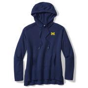 Tommy Bahama University of Michigan Women's Tami Lounge Knit Hooded Sweatshirt