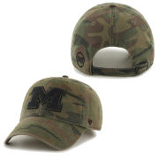 '47 Brand University of Michigan Camo Operation Hat Trick Slouch Hat