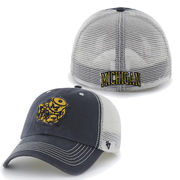'47 Brand University of Michigan College Vault Closer Meshback Flex Fit Hat