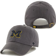 '47 Brand University of Michigan Charcoal Cleanup Basic Slouch Hat