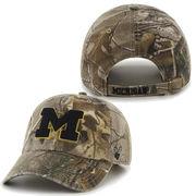 '47 Brand University of Michigan Big Buck Clean Up Camo Slouch Hat