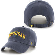 '47 Brand University of Michigan Navy Arched Michigan Clean-Up Slouch Hat