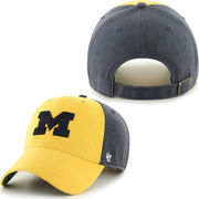 '47 Brand University of Michigan Flagstaf Clean-Up Slouch Hat