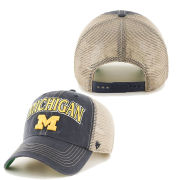 '47 Brand University of Michigan Navy ''Tuscaloosa'' Meshback Snapback Hat